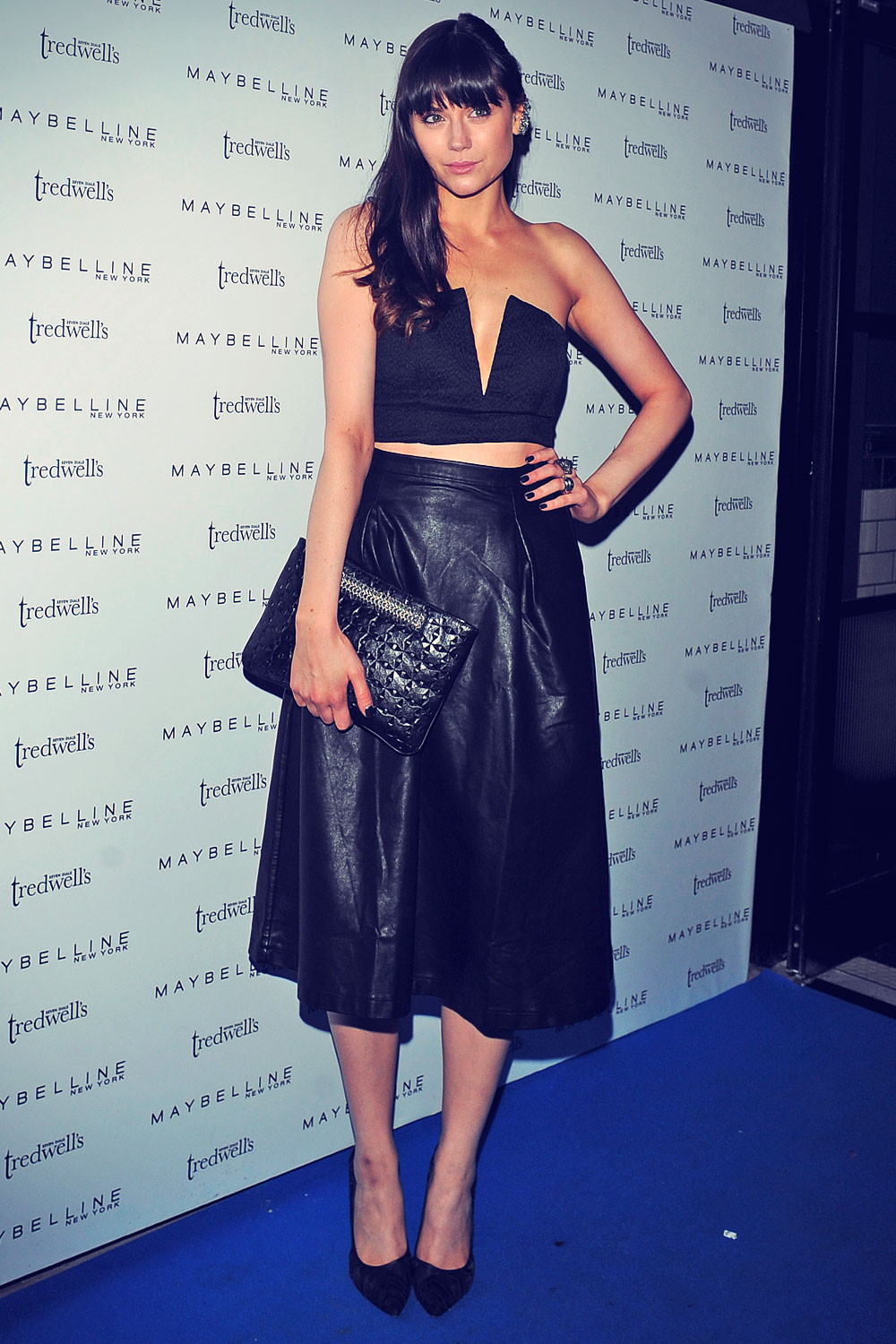 Lilah Parsons attends Maybelline New York party during London Fashion Week