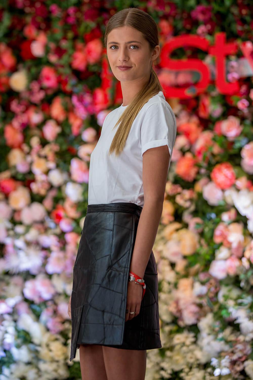 Lilli Schweiger attends InStyle Lounge Opening Brunch 2019