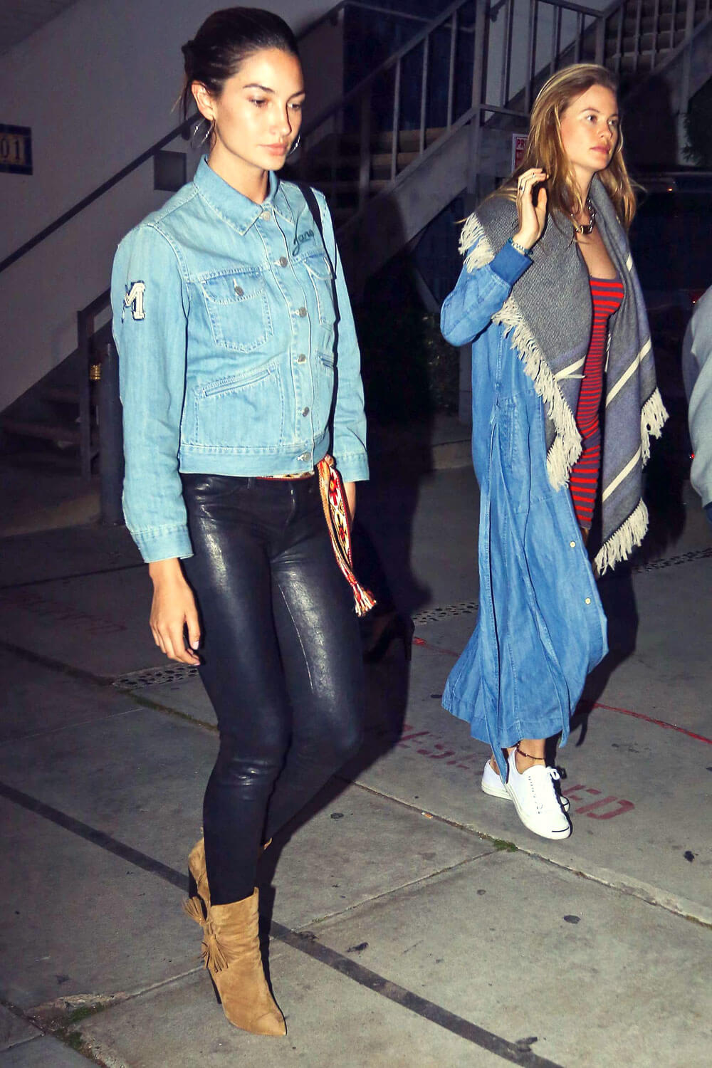 Lily Aldridge lunch and shopping in West Hollywood