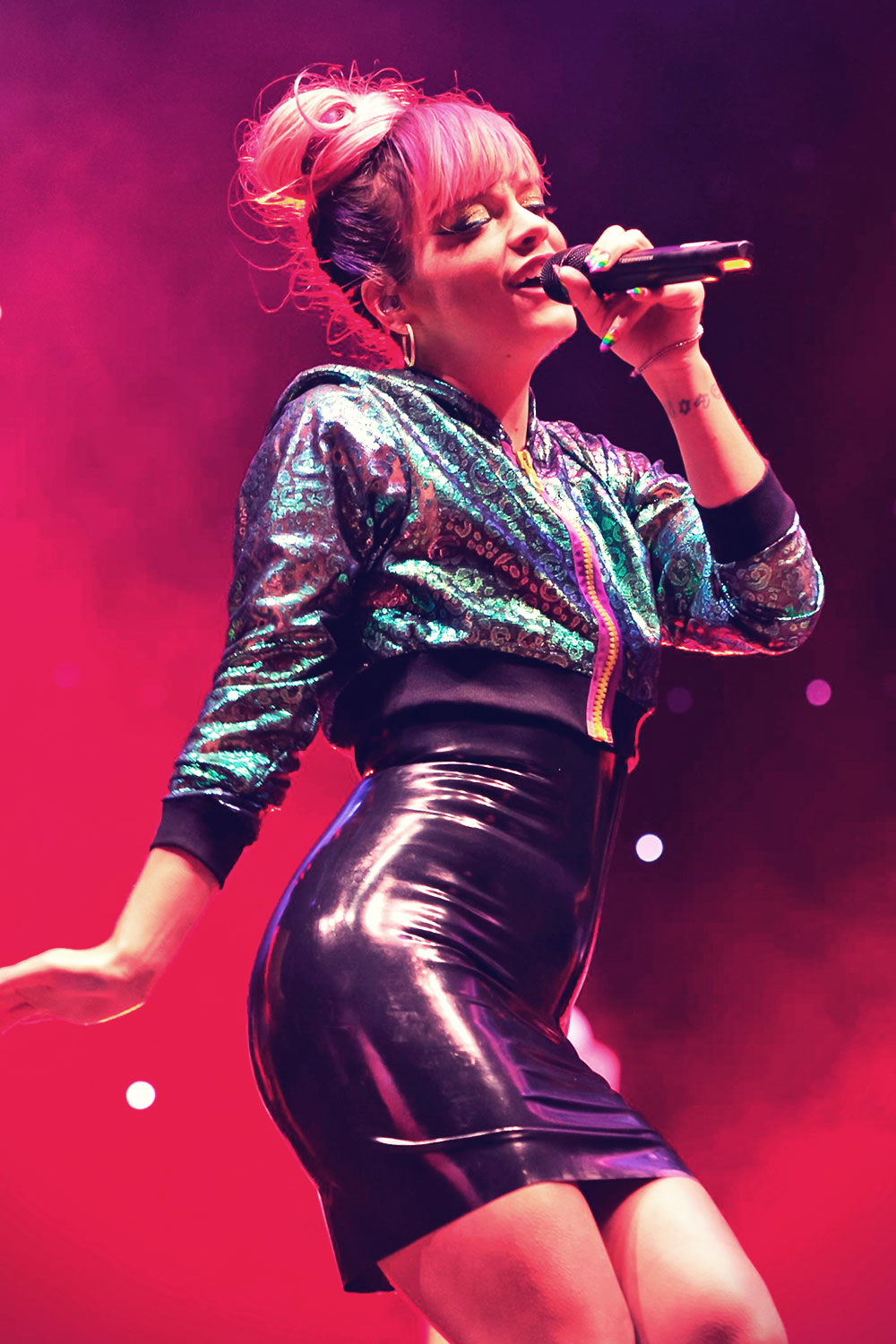 Lily Allen performs LIVE at Hurricane Festival