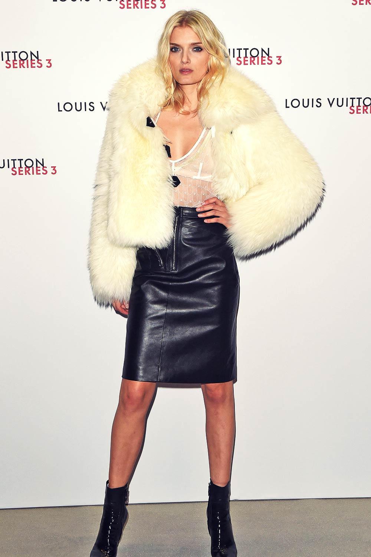 Lily Donaldson attends Louis Vuitton Series 3 VIP Launch
