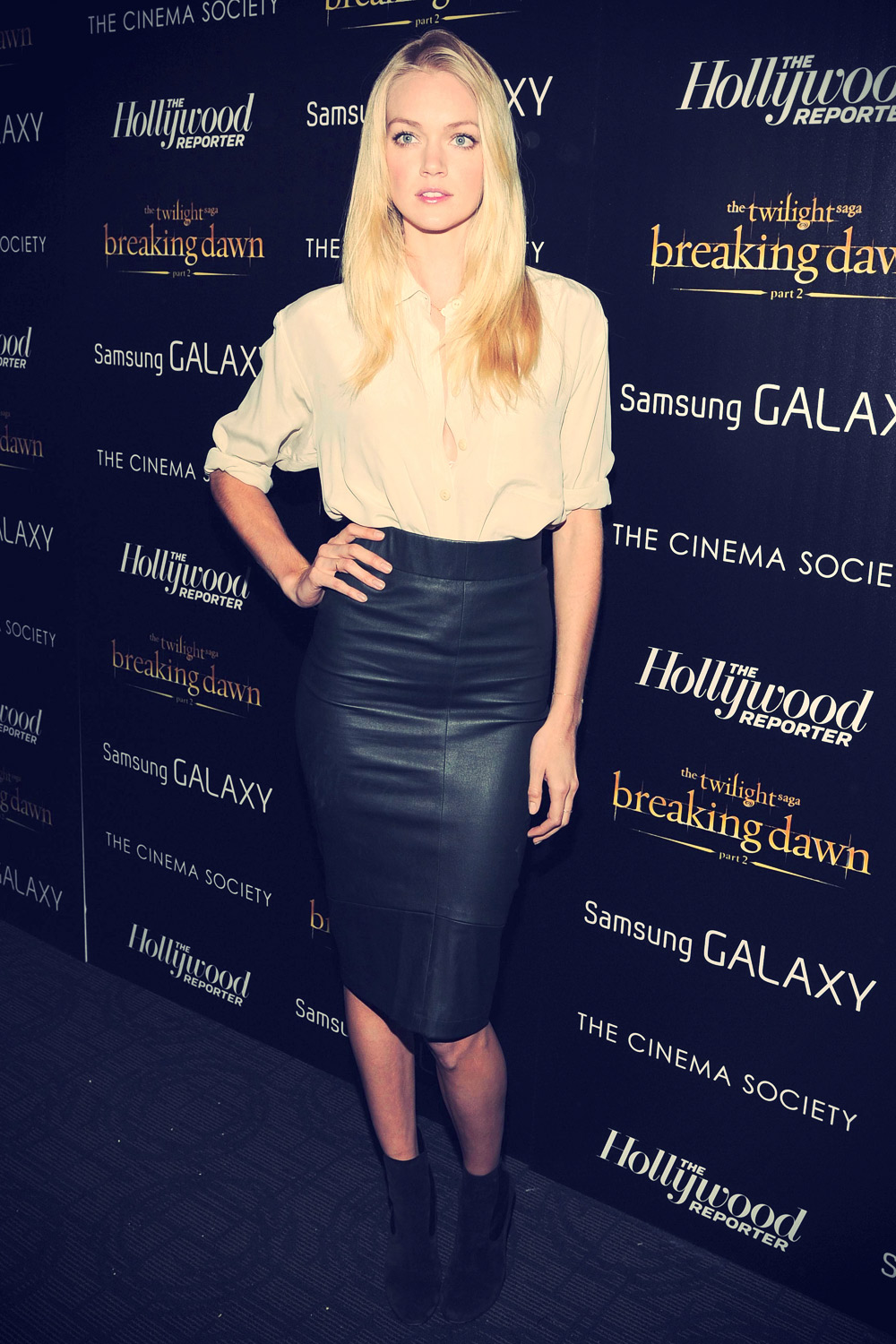 Lindsay Ellingson at The Twilight Saga Breaking Dawn 2