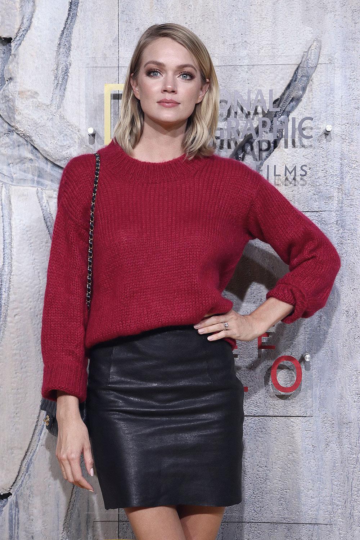 Lindsay Ellingson attends Free Solo premiere