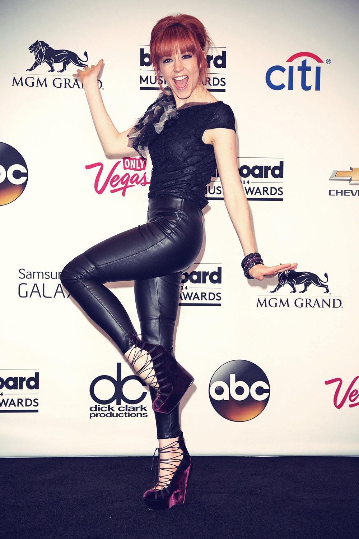 Lindsey Stirling at the 2014 Billboard Music Awards
