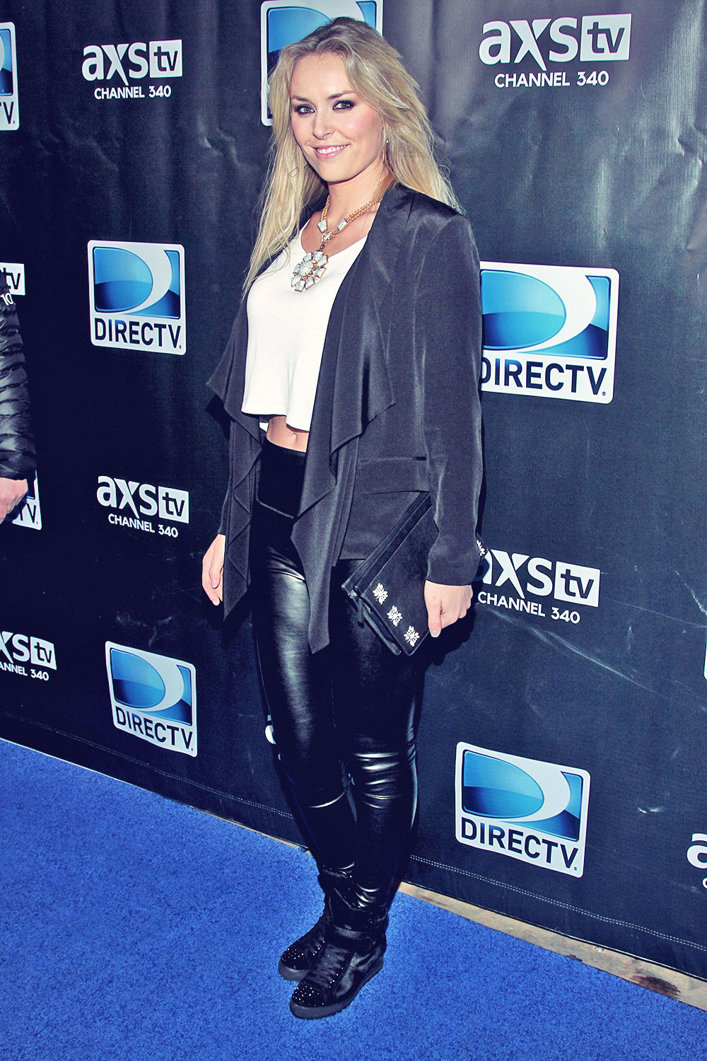 Lindsey Vonn DirecTV Super Saturday Night