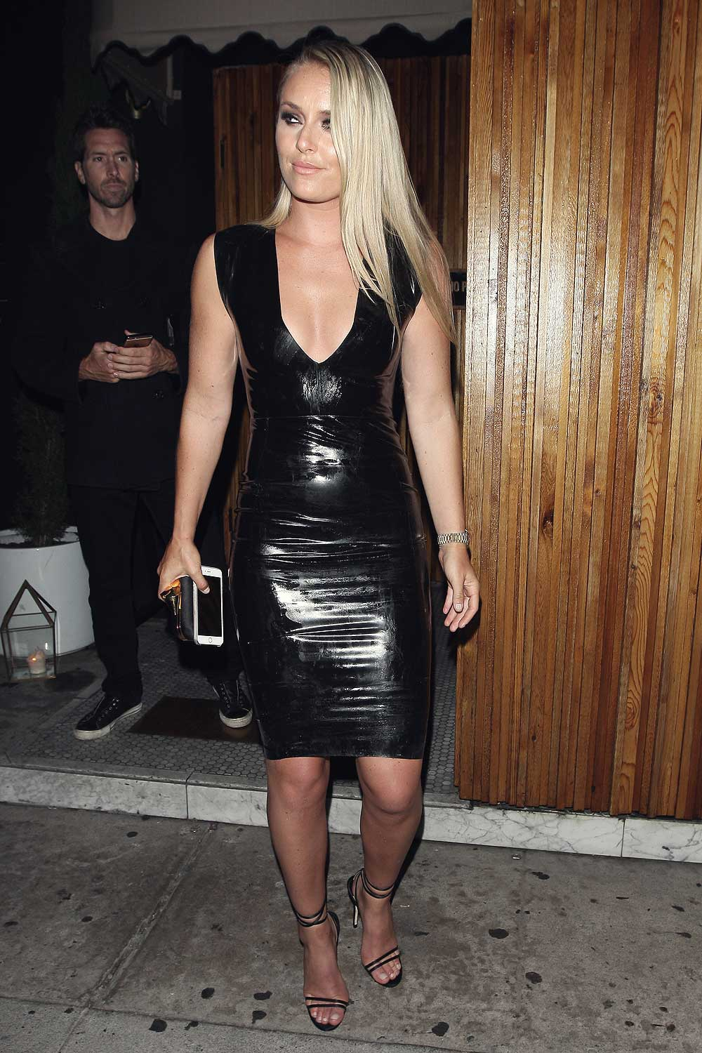 Lindsey Vonn at the Nice Guy in West Hollywood