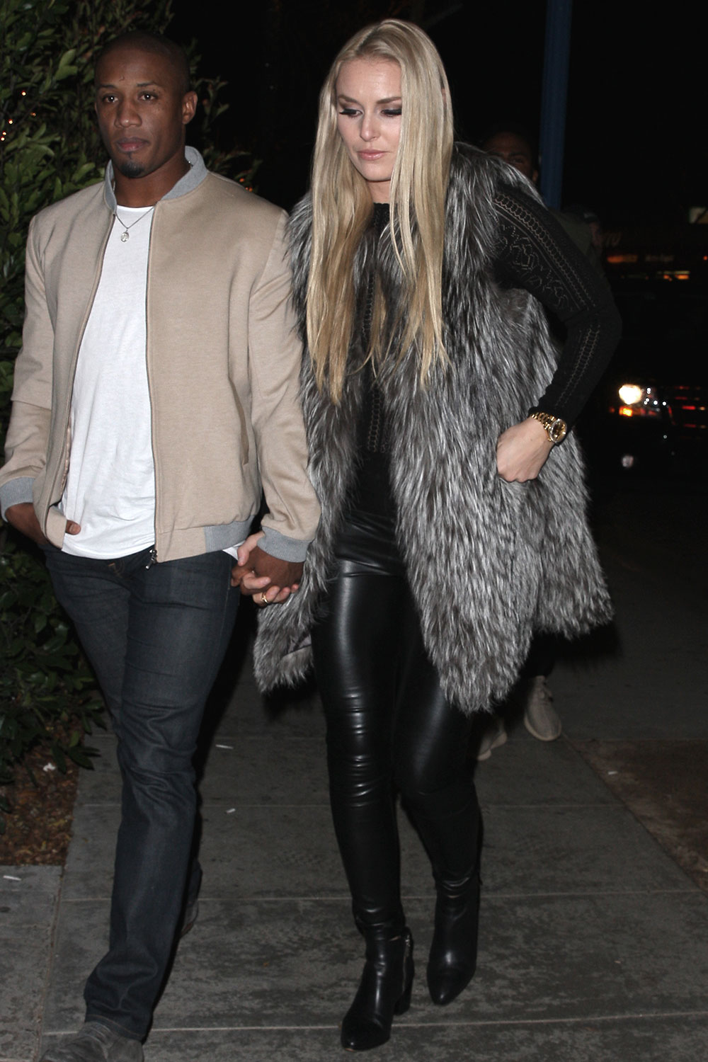 Lindsey Vonn heads to the Delilah club