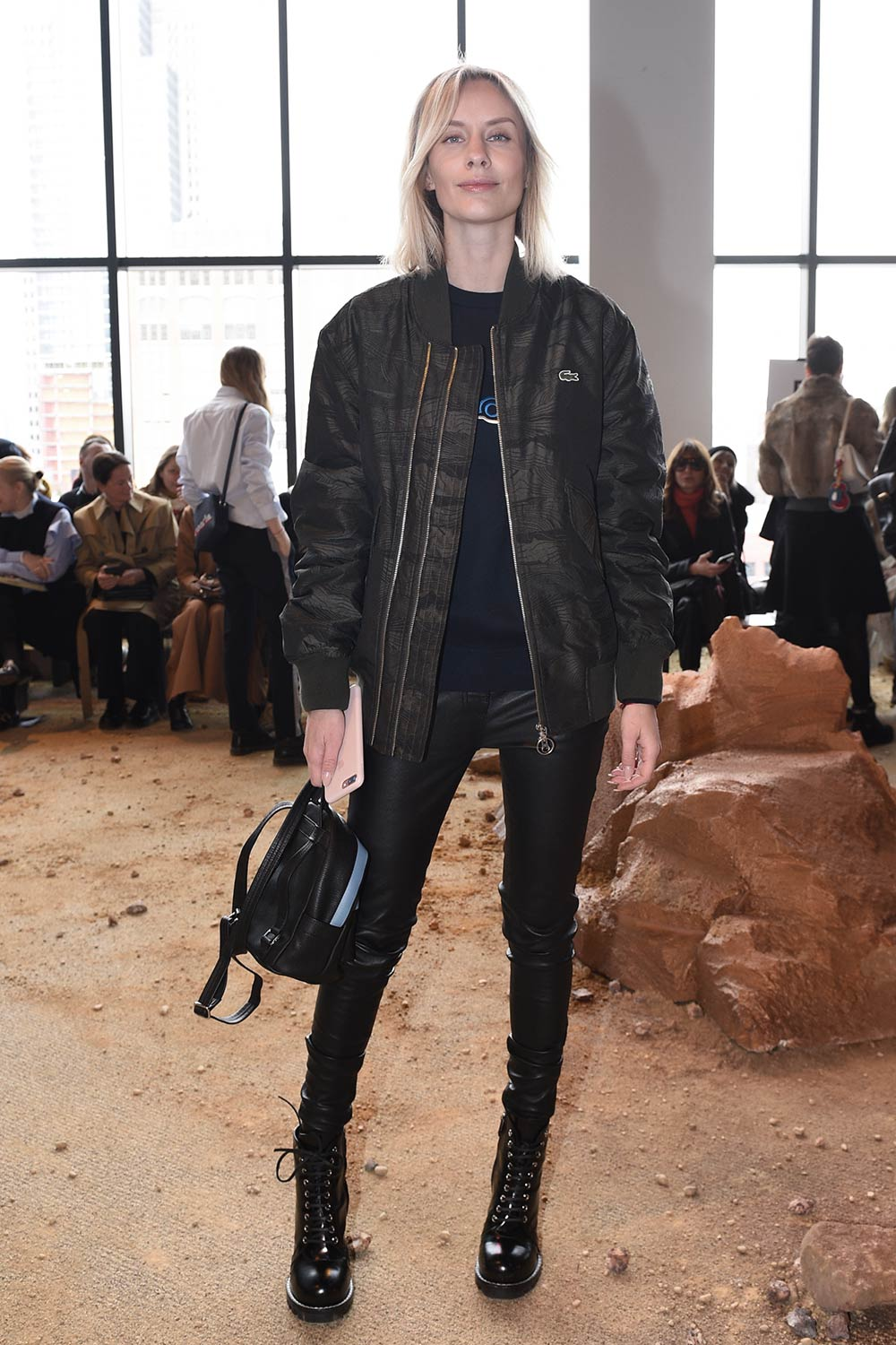 Lisa Hahnbuck attends the Lacoste fashion show