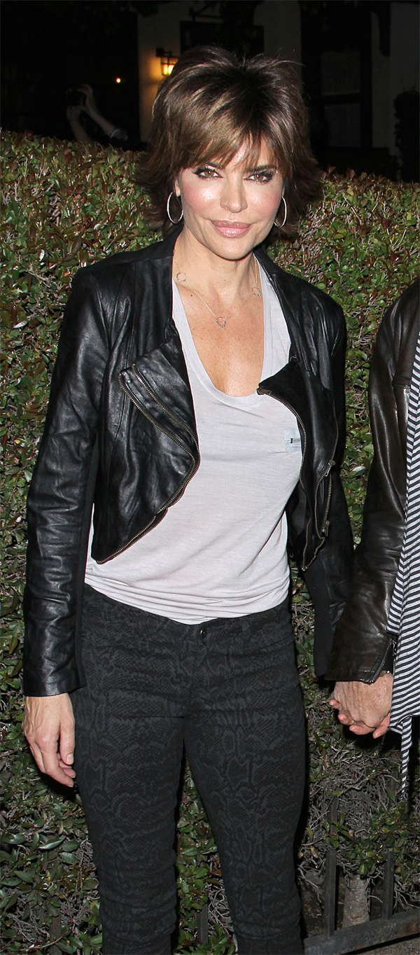 Lisa Rinna at Shamless Season 2 Premiere Party in LA
