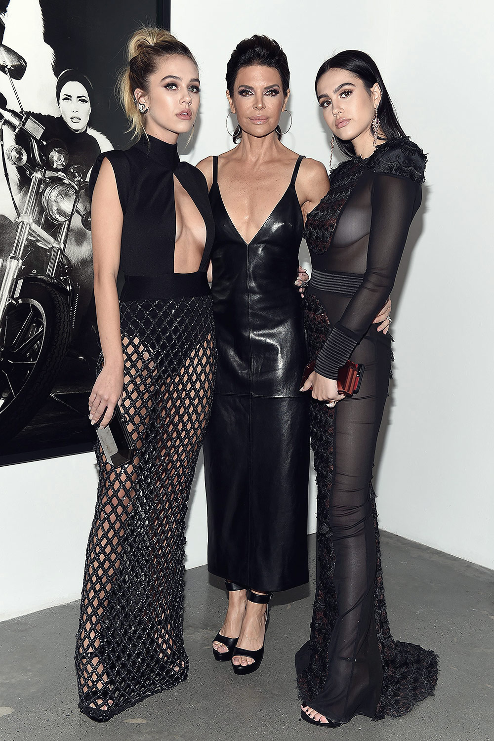 9fa7901a4a60 ... Lisa Rinna attends Art and Commerce  The Exhibition