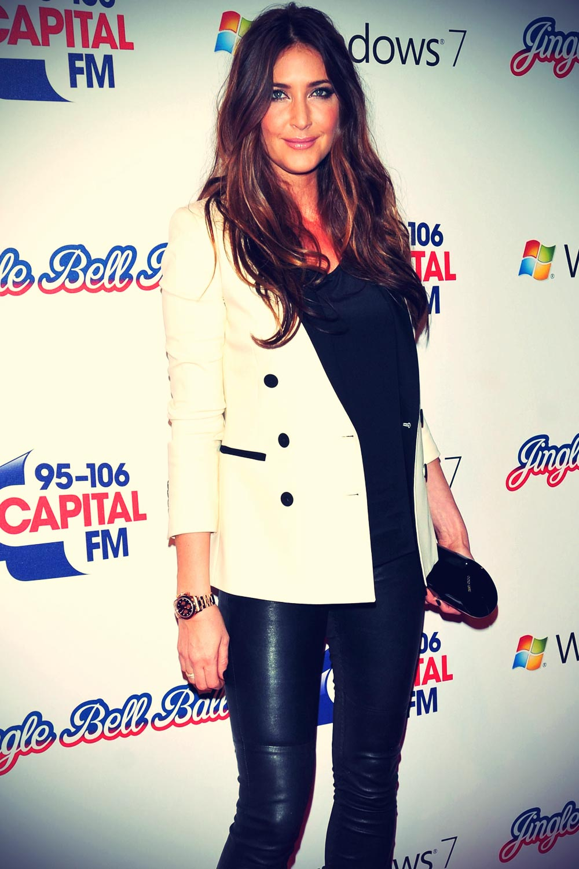 Lisa Snowdon attends Capital FM's Jingle Bell Ball