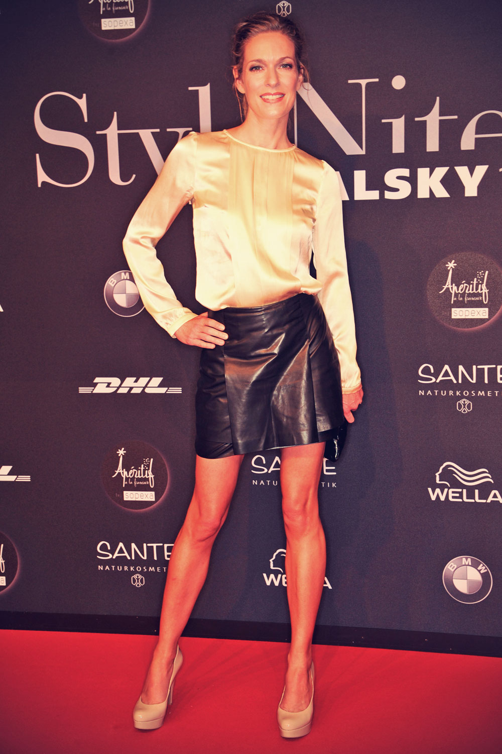Lisa Martinek attends the Michalsky Stylenite 2014