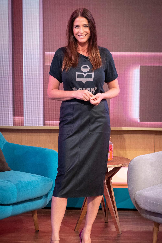 Lisa Snowdon at This Morning TV Show