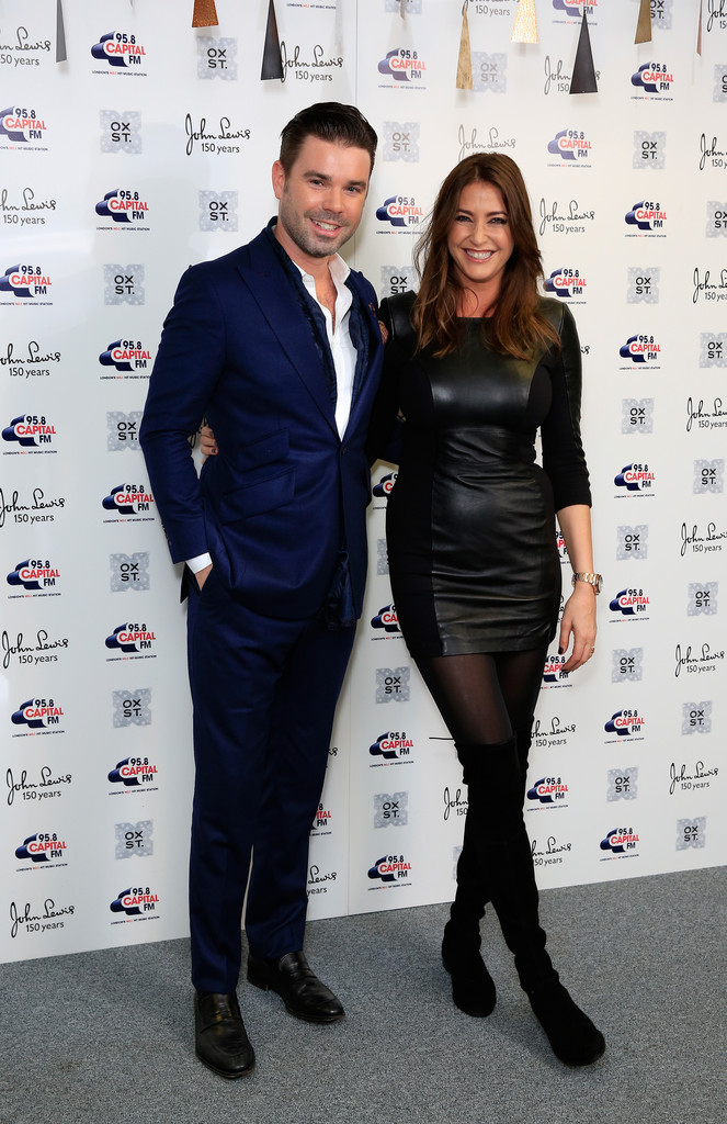 Lisa Snowdon attends The World Famous Oxford Street Christmas Lights Switch On Event