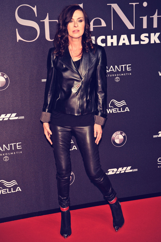 Lisa Tomaschewsky attends Mercedes-Benz Fashion Week