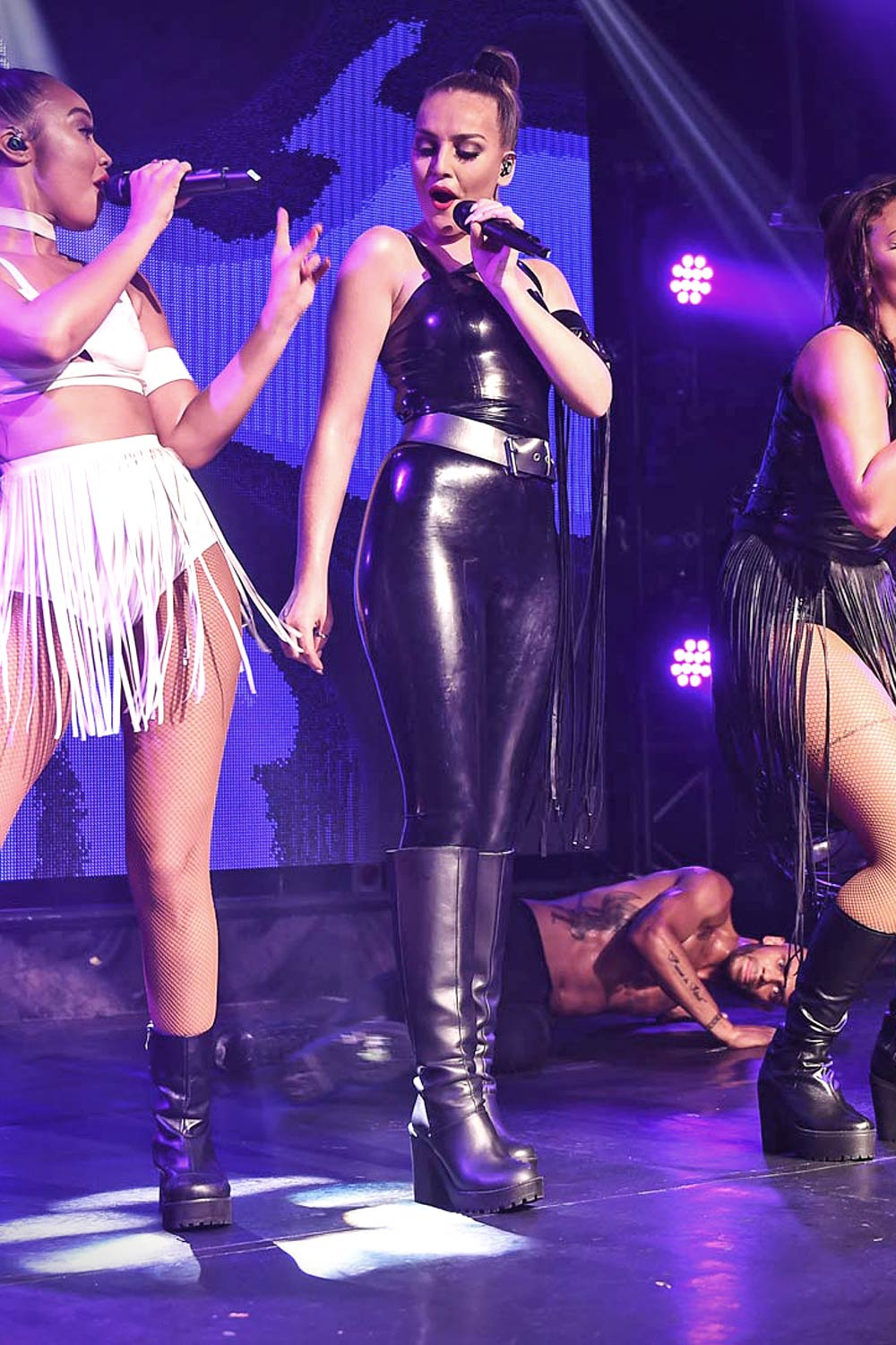 Little Mix Performing at G-A-Y in London