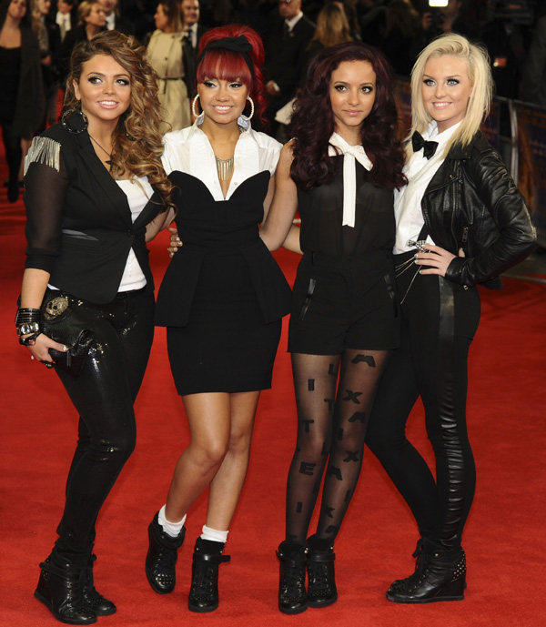 Little Mix attend the 3D screening of Hugo