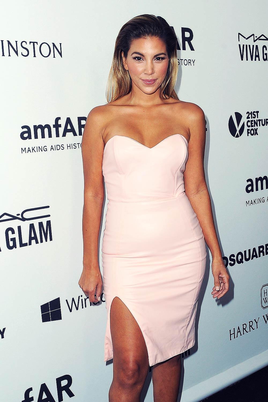 Liz Hernandez attends amfAR Inspiration Gala