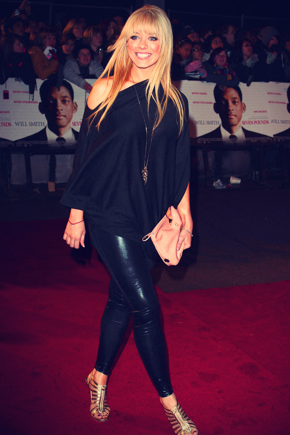 Liz Mcclarnon attends the UK Premiere of 'Seven Pounds