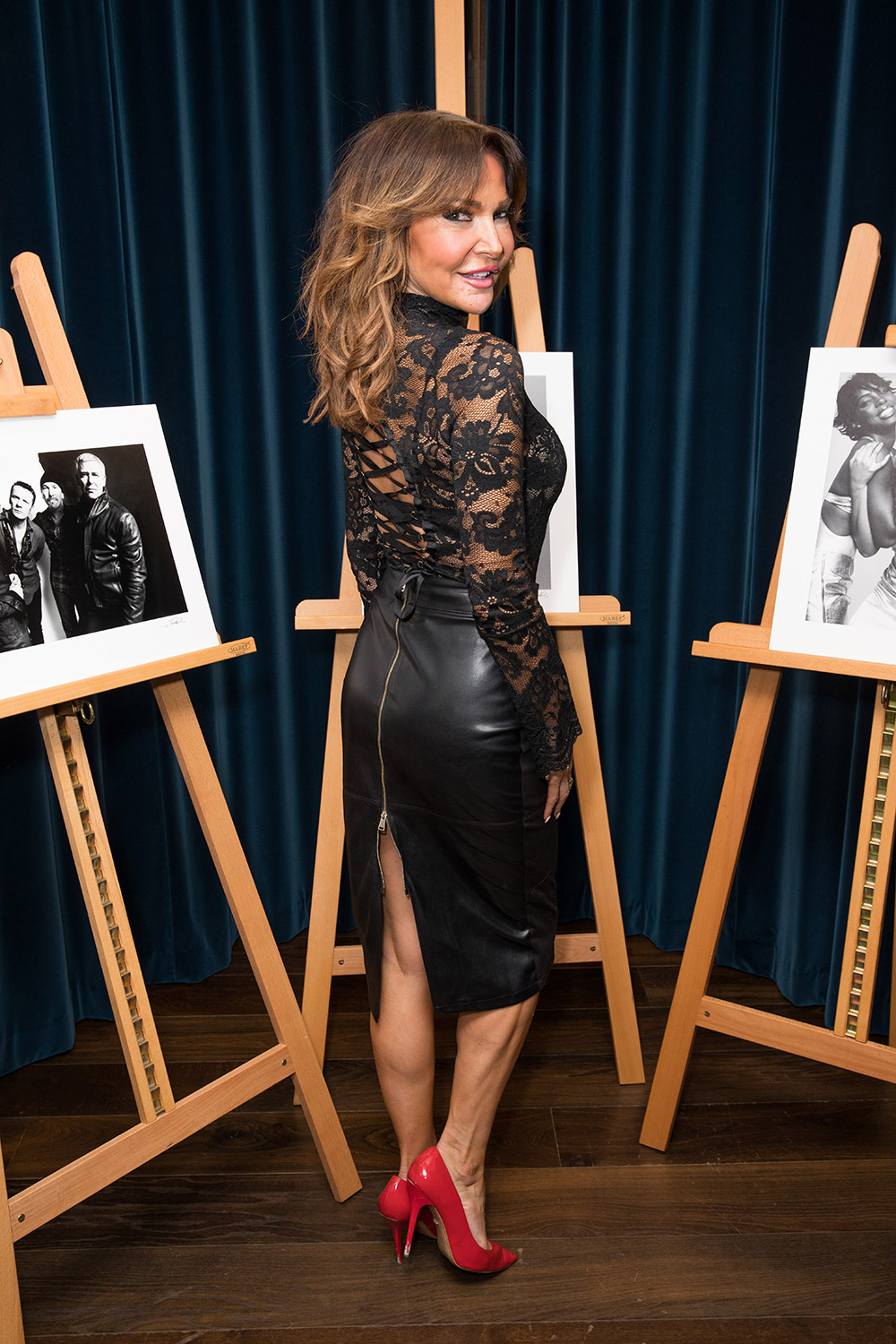 Lizzie Cundy attends Children's Charity Fundraising Evening