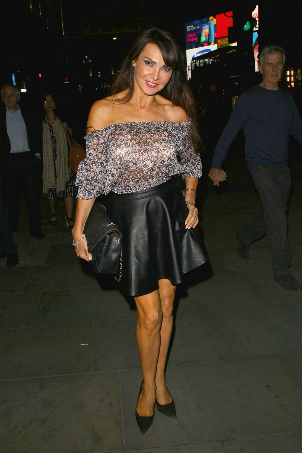 Lizzie Cundy attends UK Premiere of Buttercup Bill