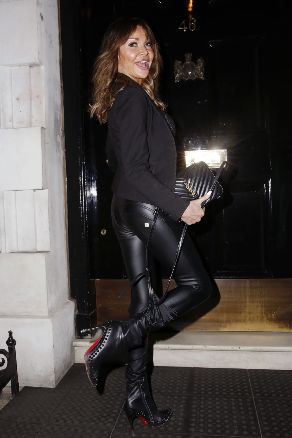 Lizzie Cundy at Annabel's London