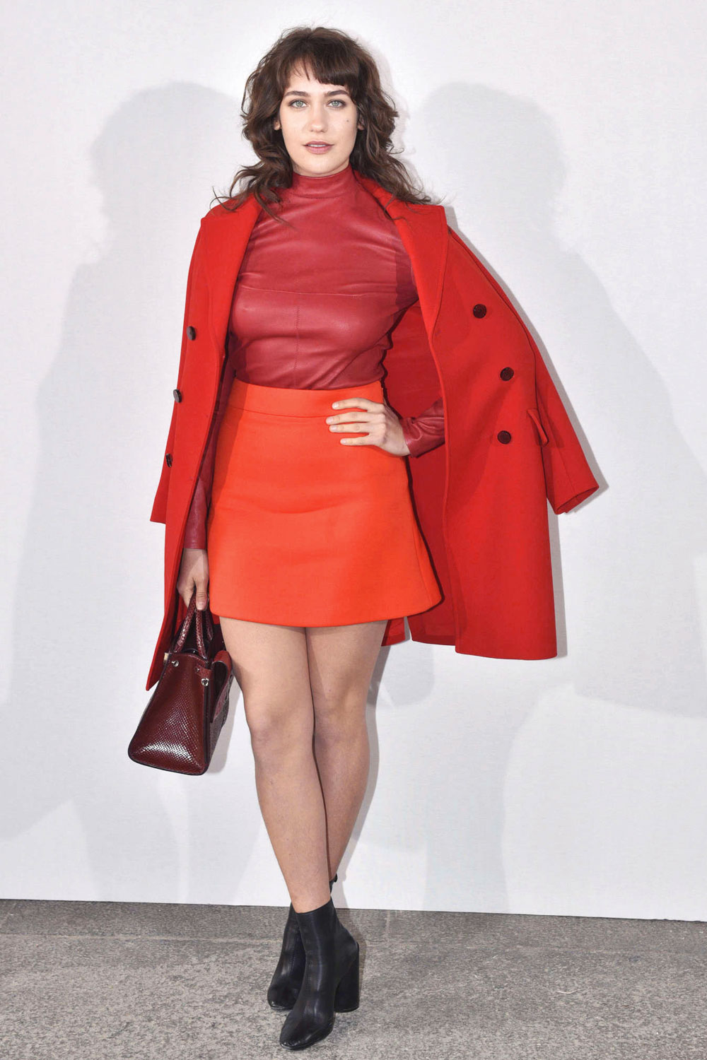 Lola Kirke attends Christian Dior Fashion Show