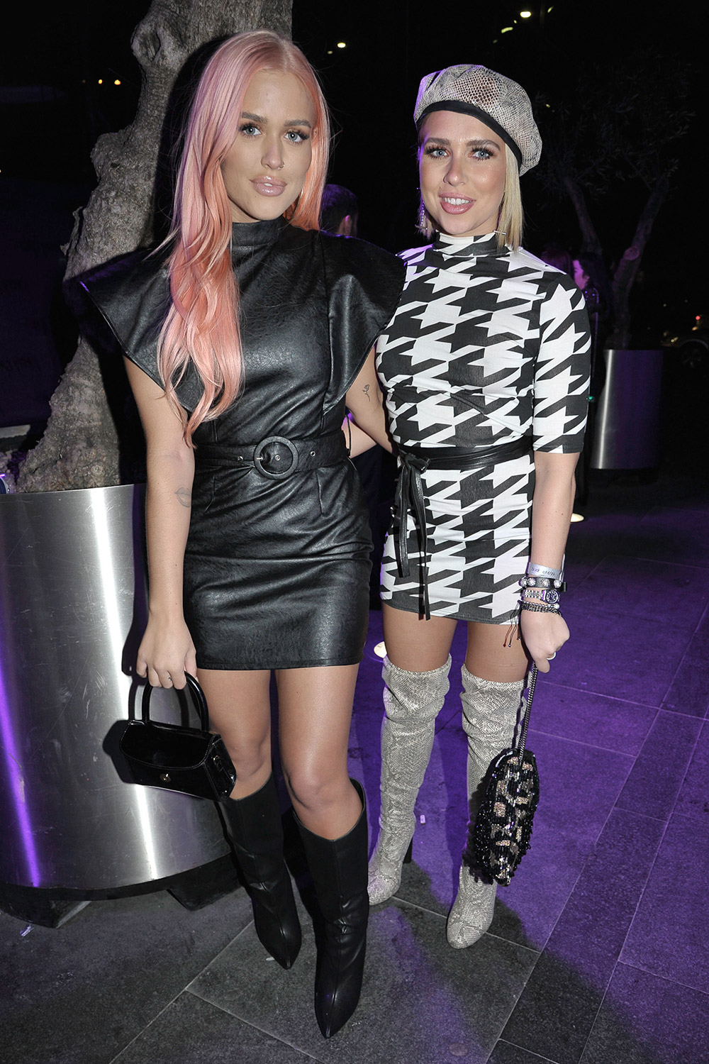 Lottie Tomlinson attends Nasty Gal Boohoo event
