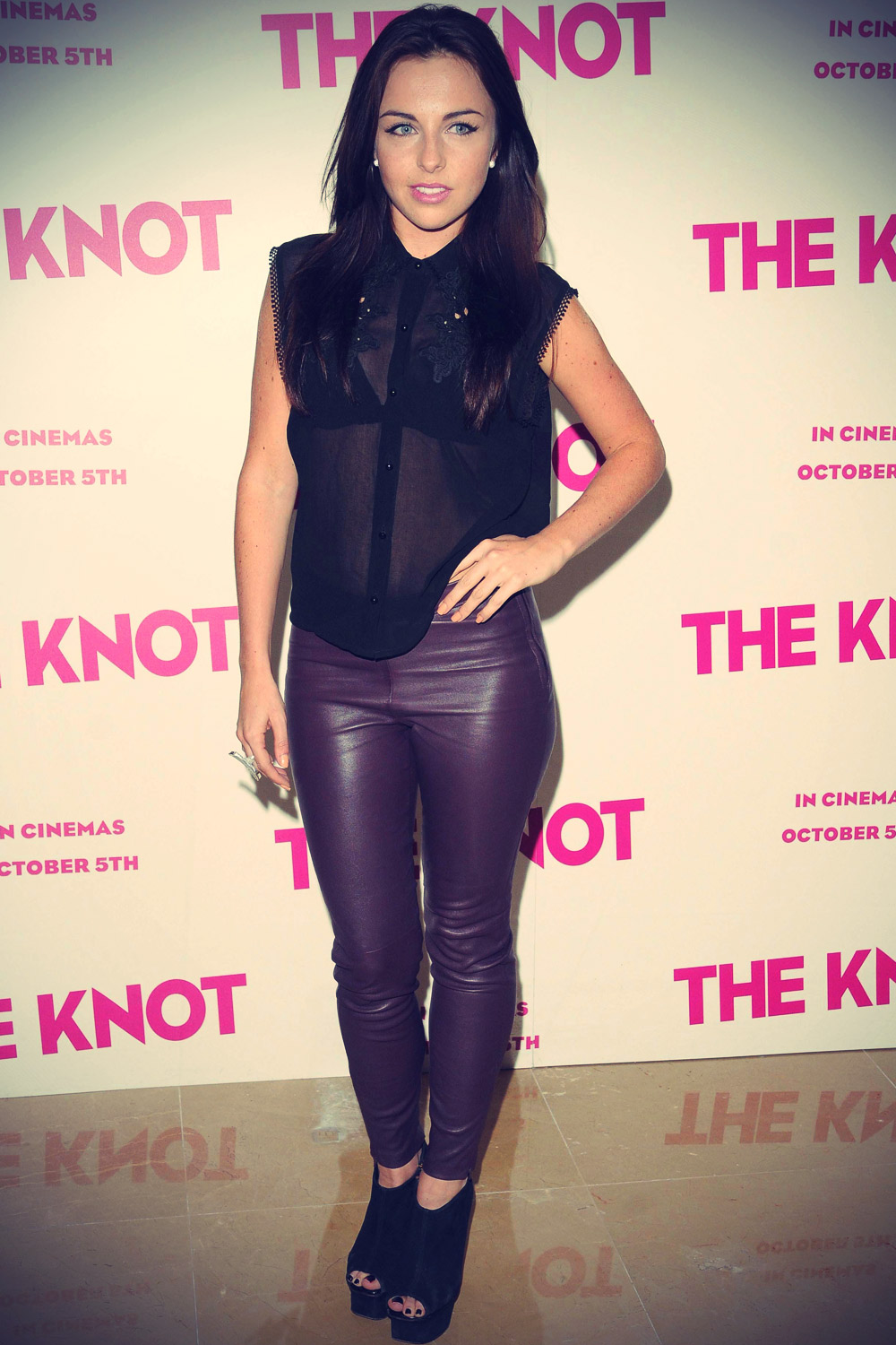 Louisa Lytton at The Knot Gala Screening