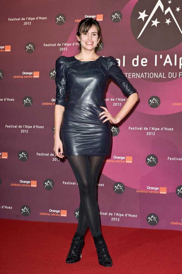 Louise Monot at 15th L'Alpe D'Huez International Comedy Film Festival