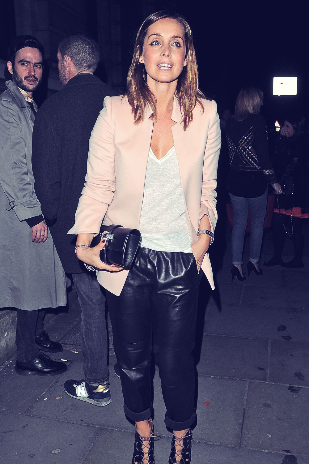 Louise Redknapp attends Matthew Williamson show