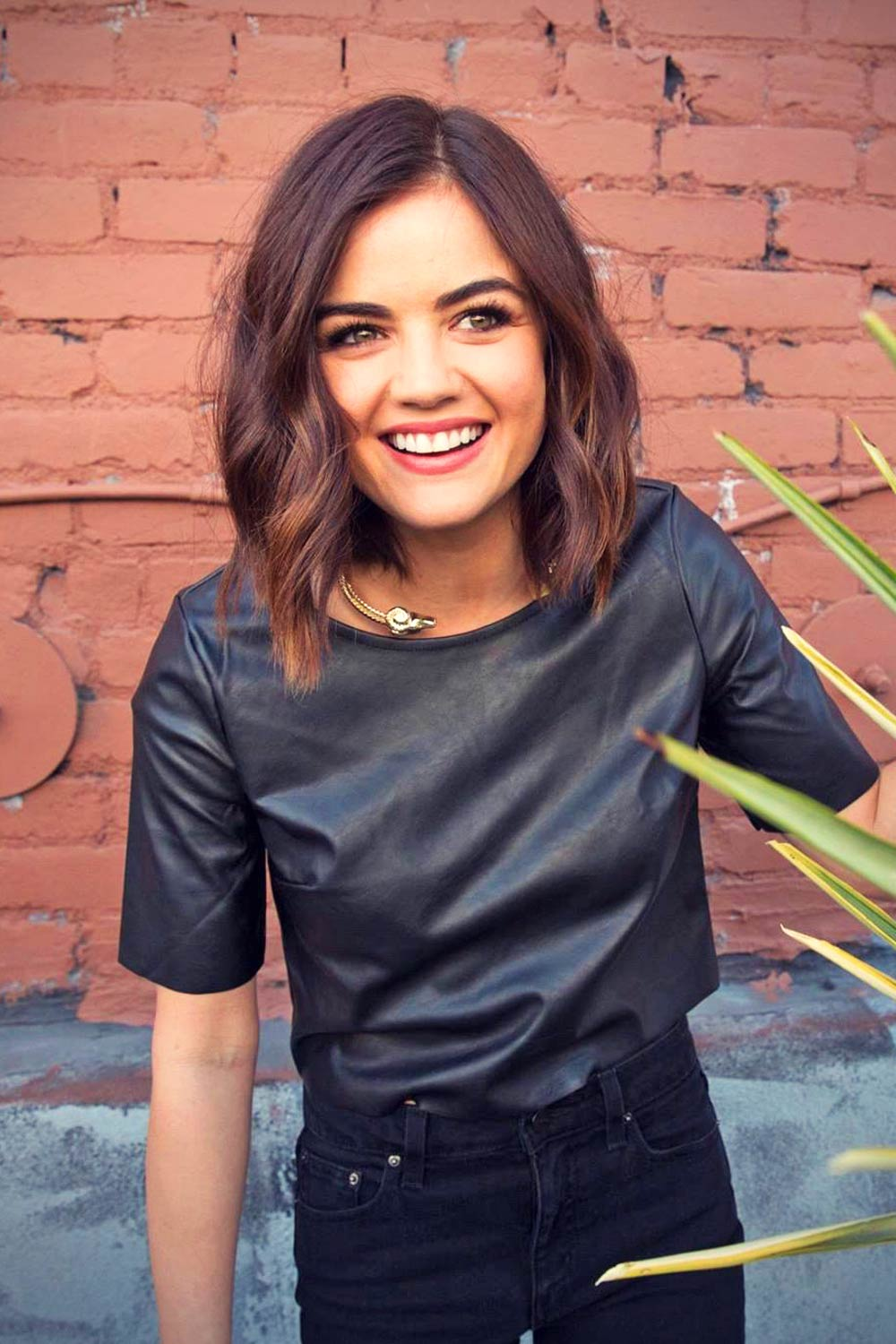 Lucy Hale - 2015 Become With Us Promotional portraits