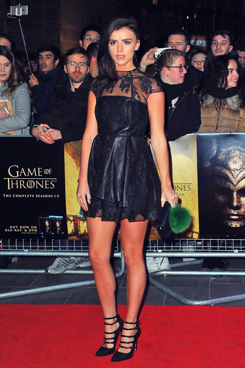 Lucy Mecklenburgh attends Game of Thrones Season 5