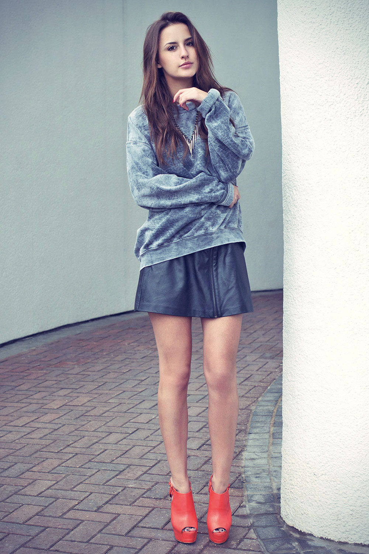 Lucy Watson Fashion Photoshoot in London