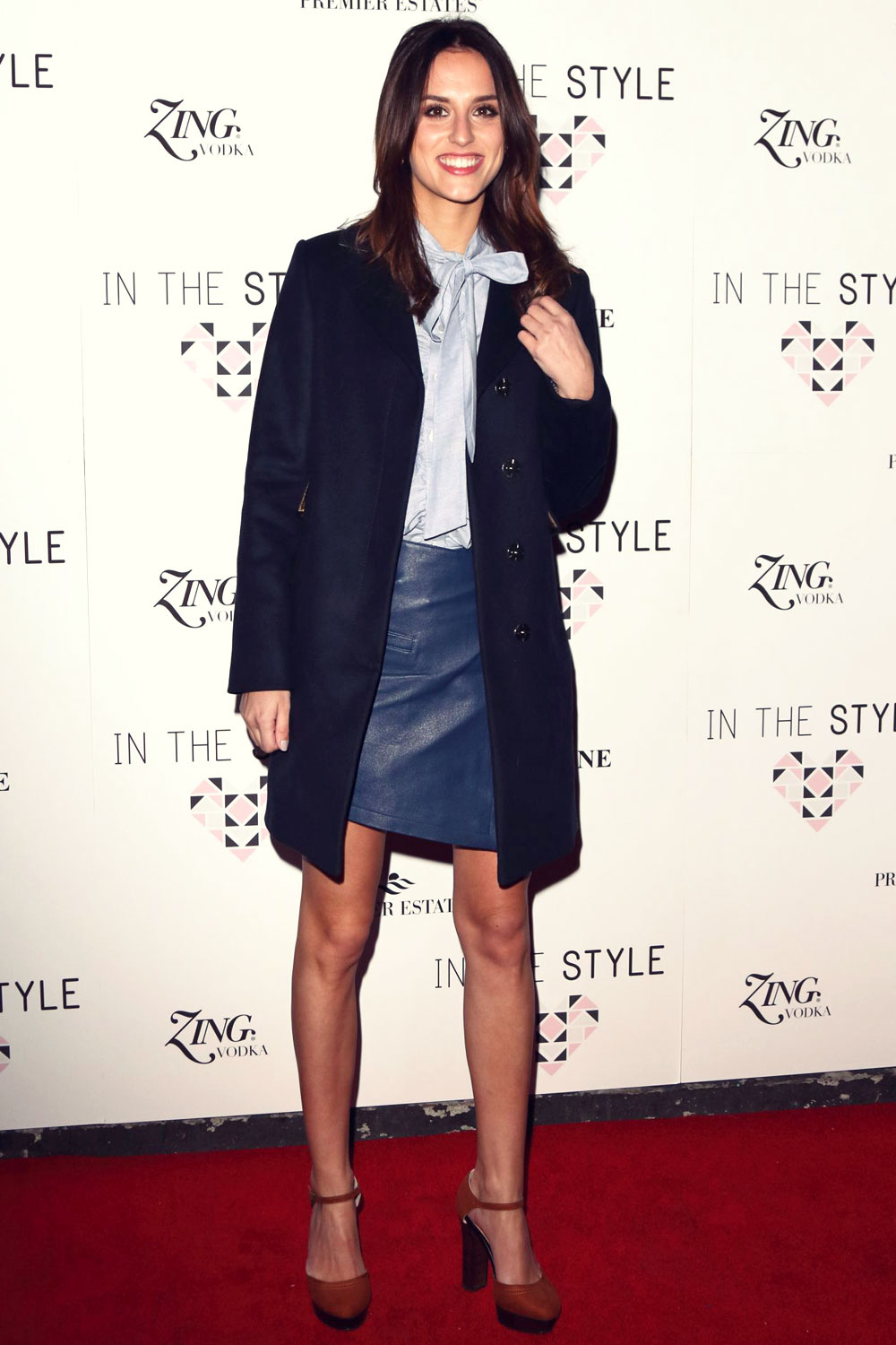 Lucy Watson attends In The Style Clothing Launch