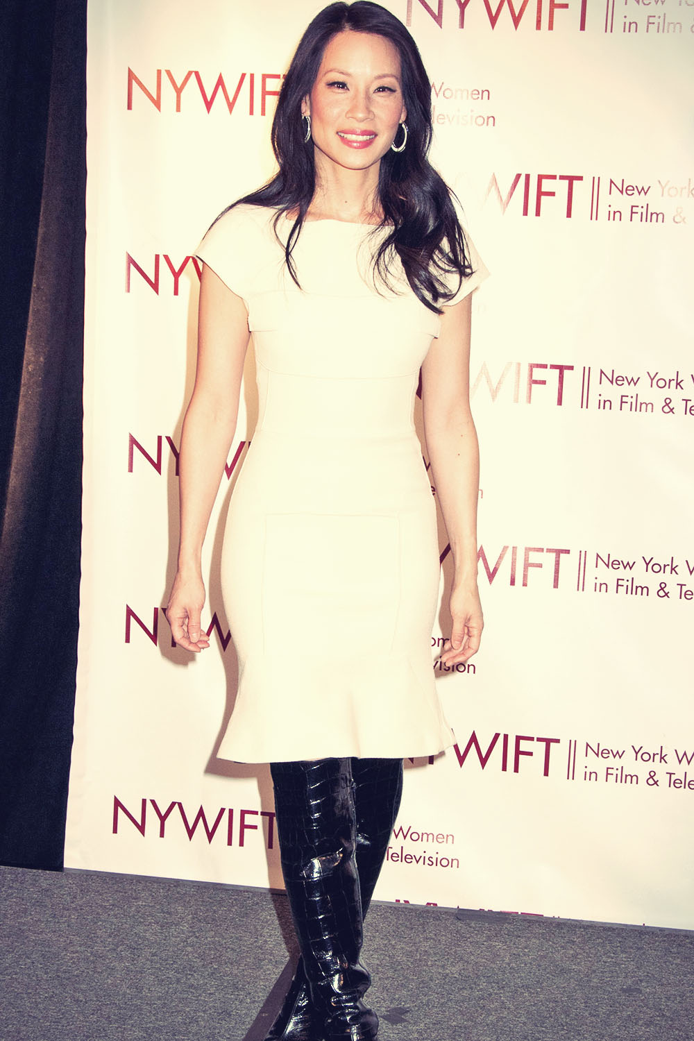 Lucy Liu attends NY Women in Film and TV Muse Awards
