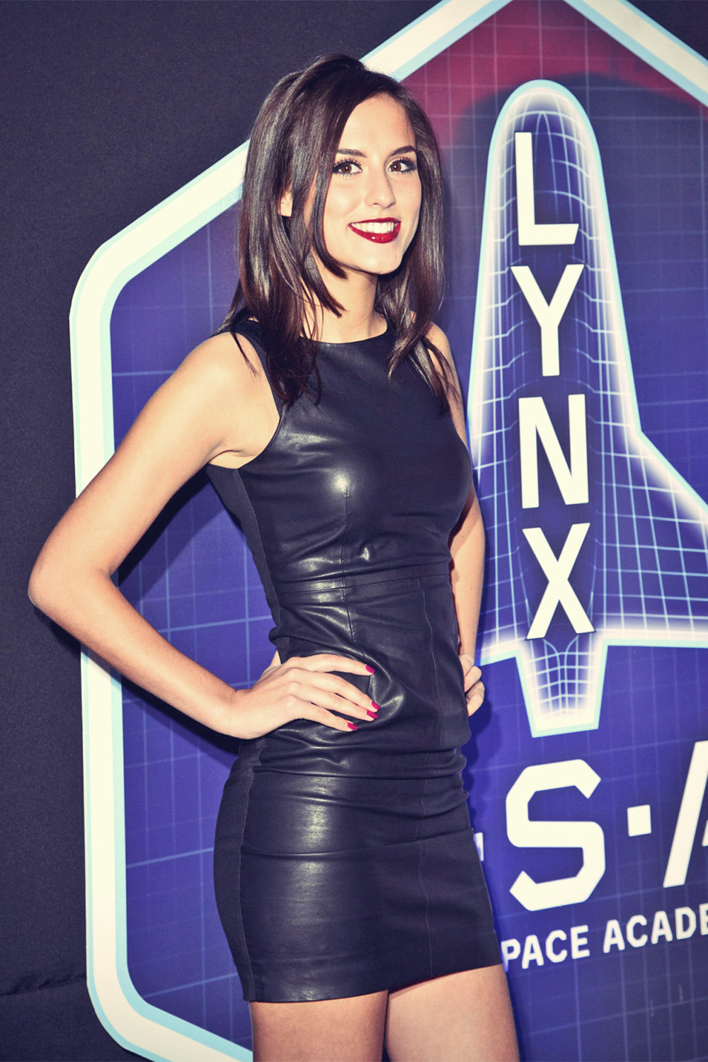 Lucy Watson attends the Lynx LSA launch event