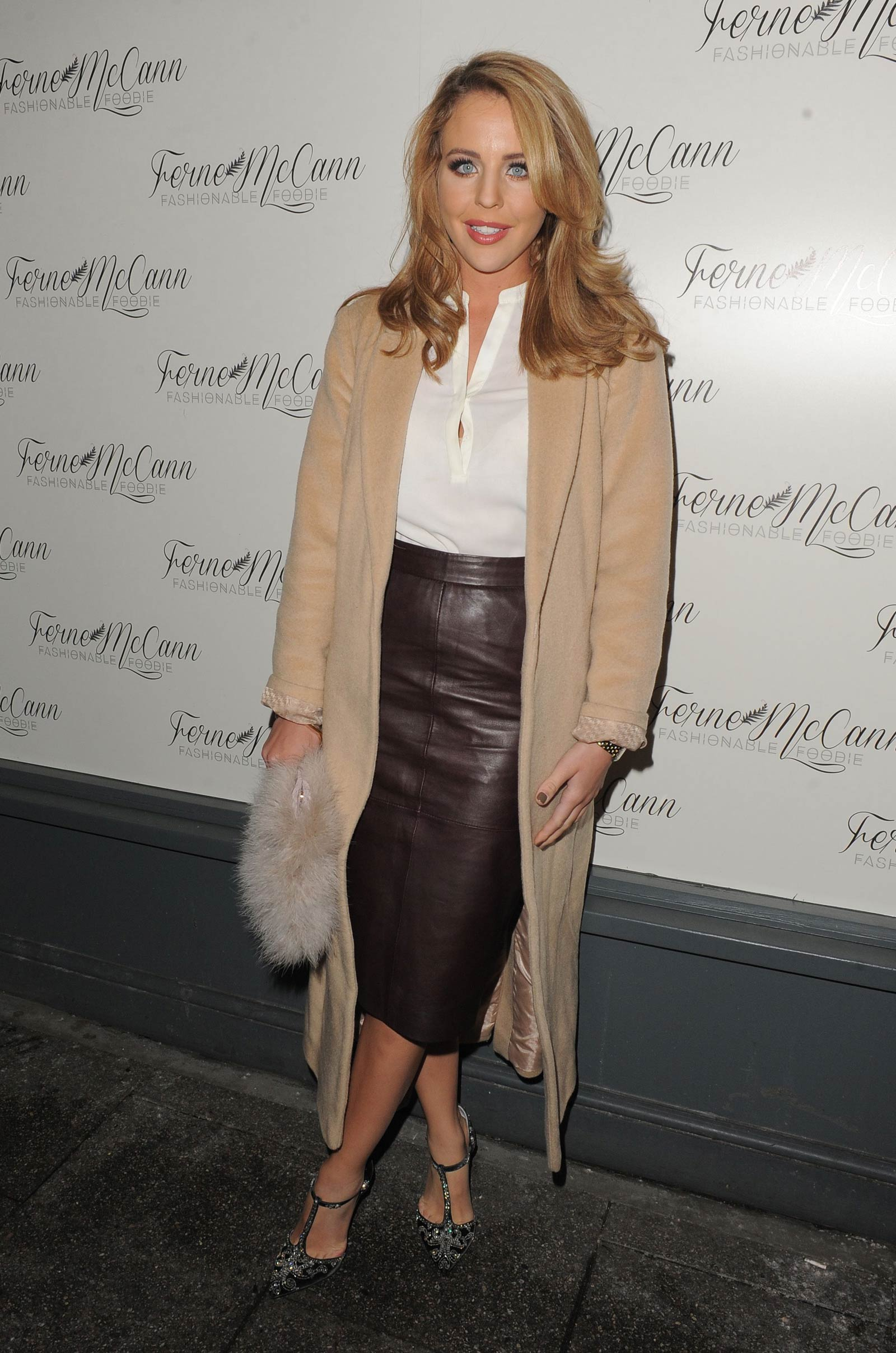 Lydia Bright attends Ferne McCann Fashionable Foodie Blog Launch