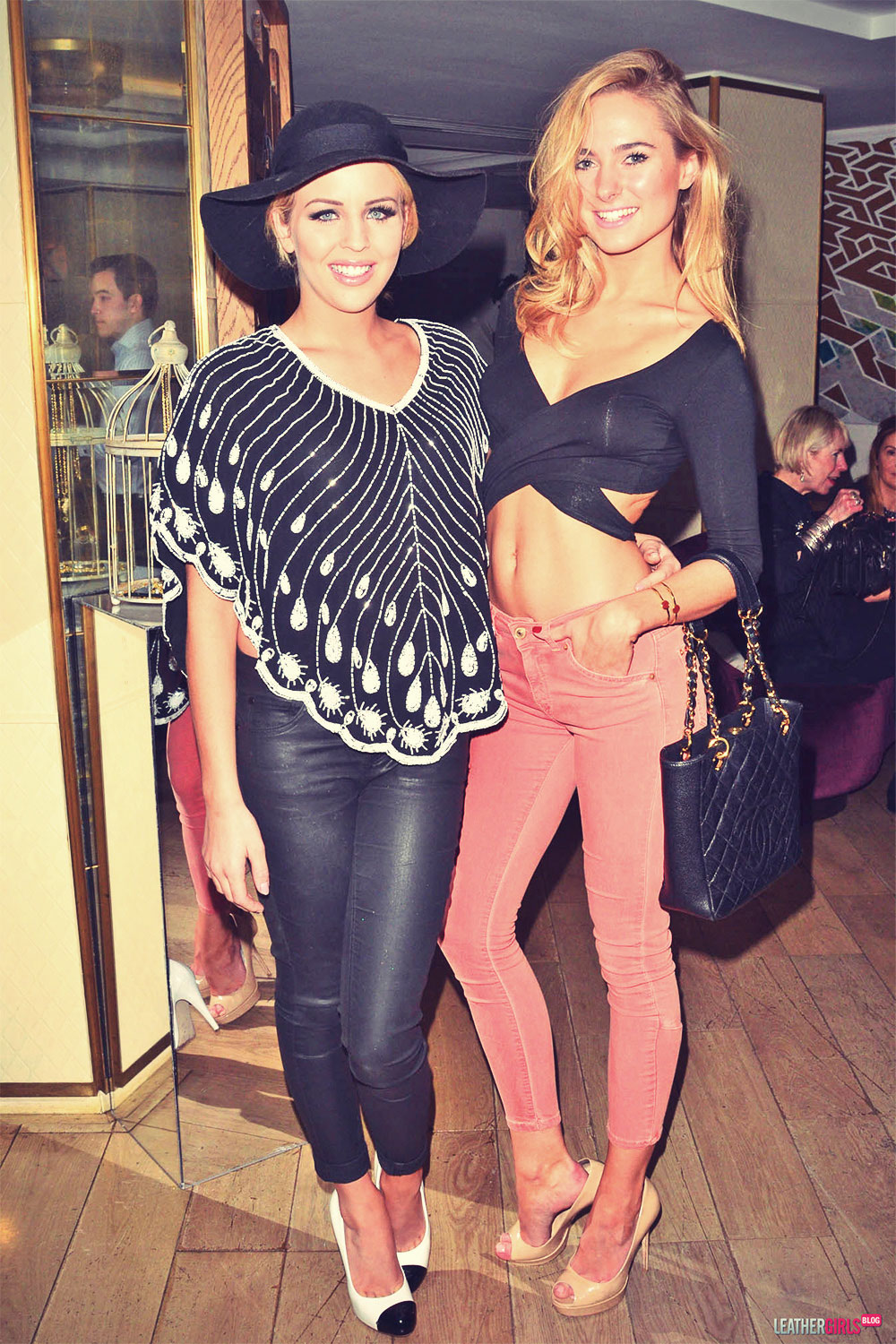 Lydia Bright attends Libertine by Giles Deacon Launch event