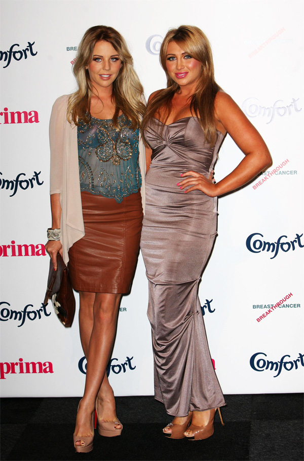 Lydia Bright at the Prima High Street Fashion Awards
