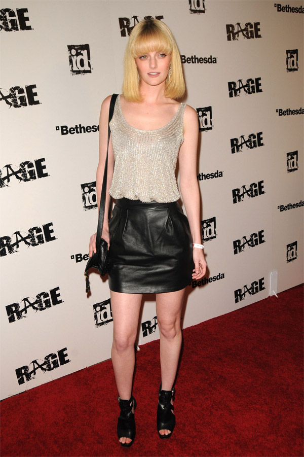 Lydia Hearst at Launch Party for RAGE in LA