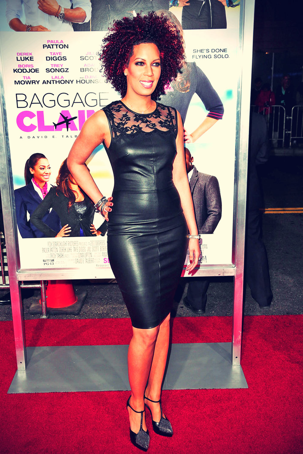 Lyn Talbert attends the premiere of Fox Searchlight Pictures Baggage Claim