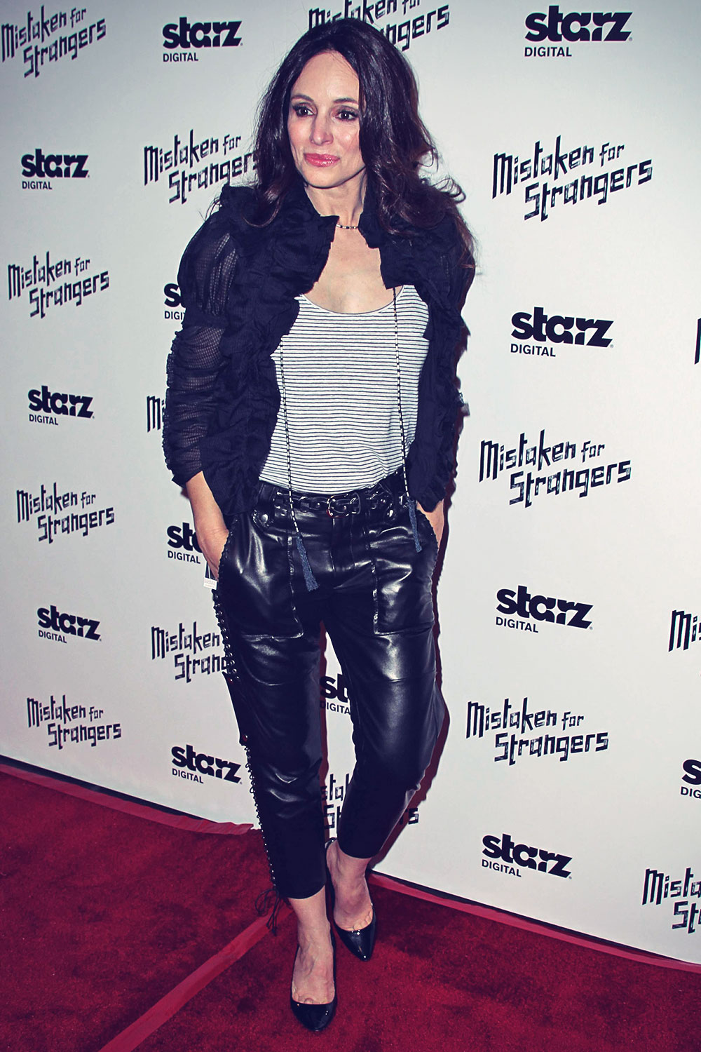 Madeleine Stowe attends screening of Mistaken For Strangers Shrine Auditorium