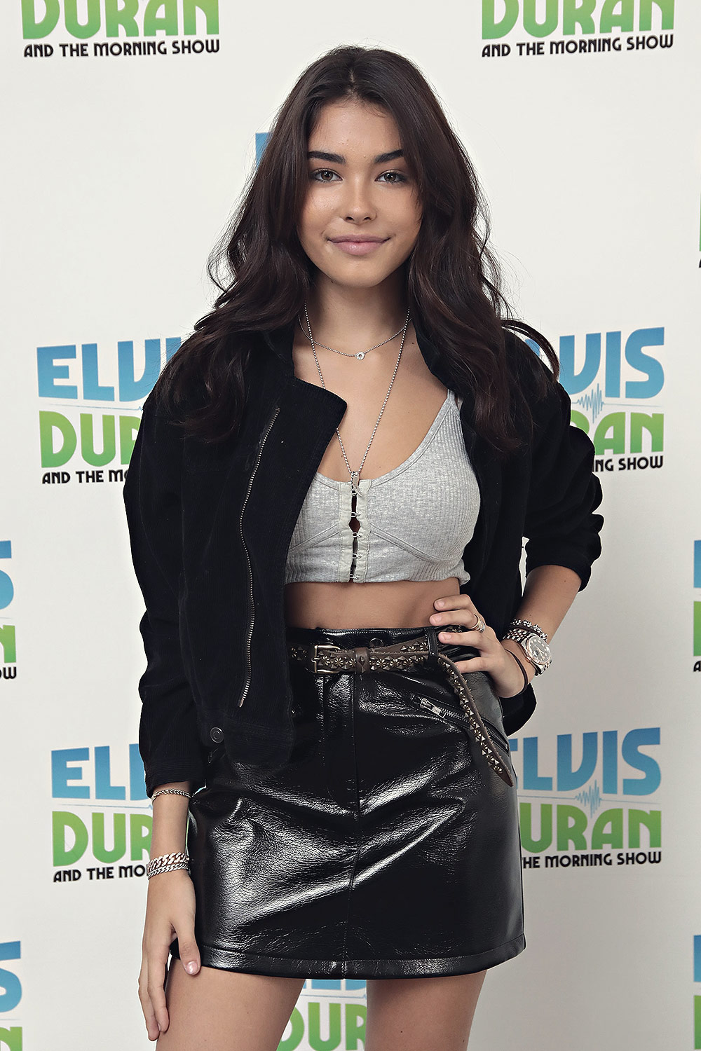 Madison Beer exiting Z100