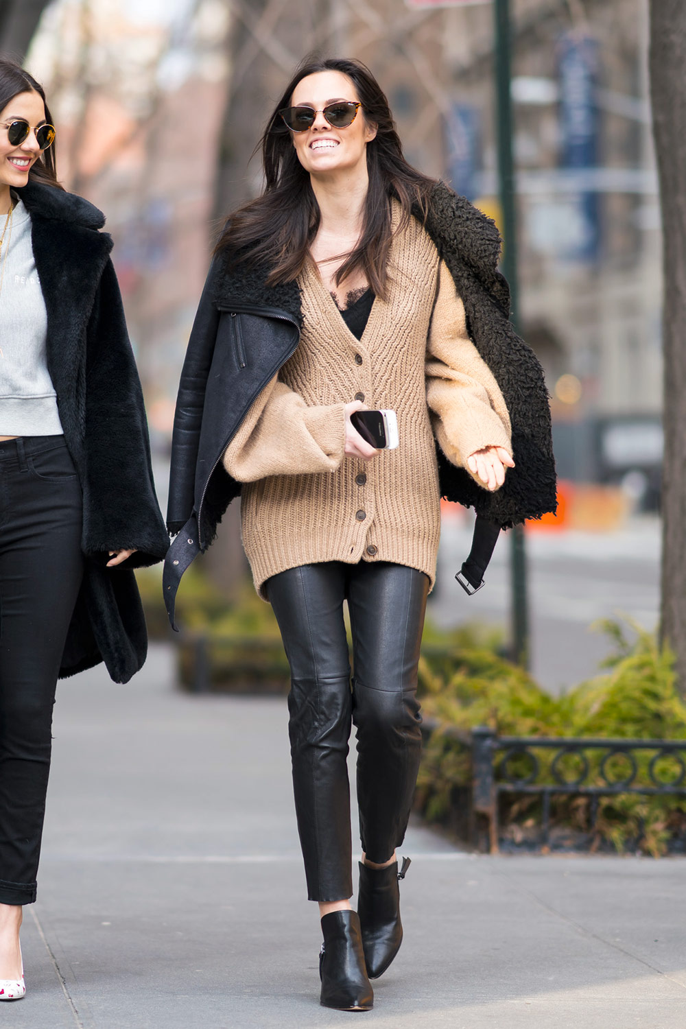 Madison Reed while out and about in NYC