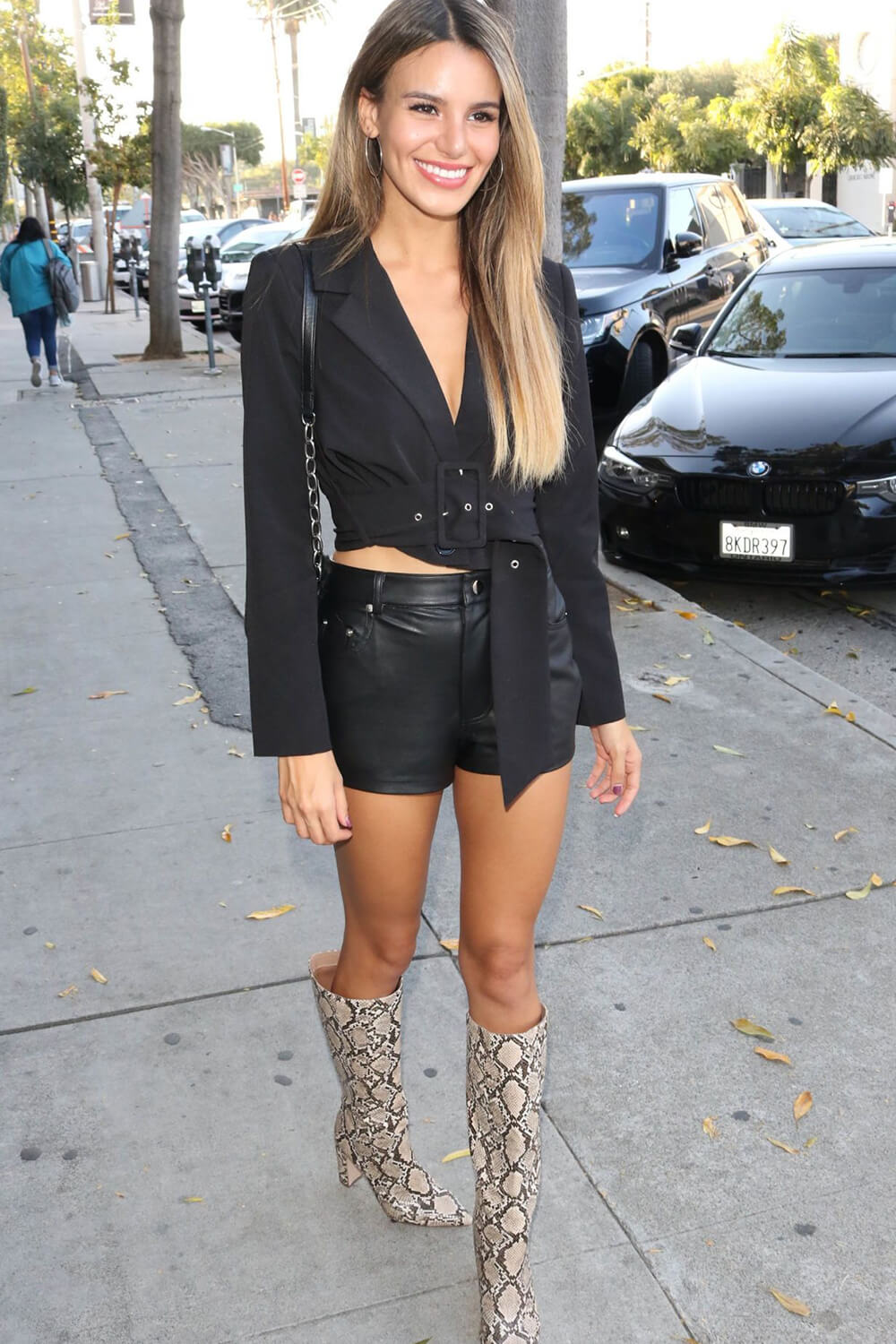 Madison Reed out in Los Angeles