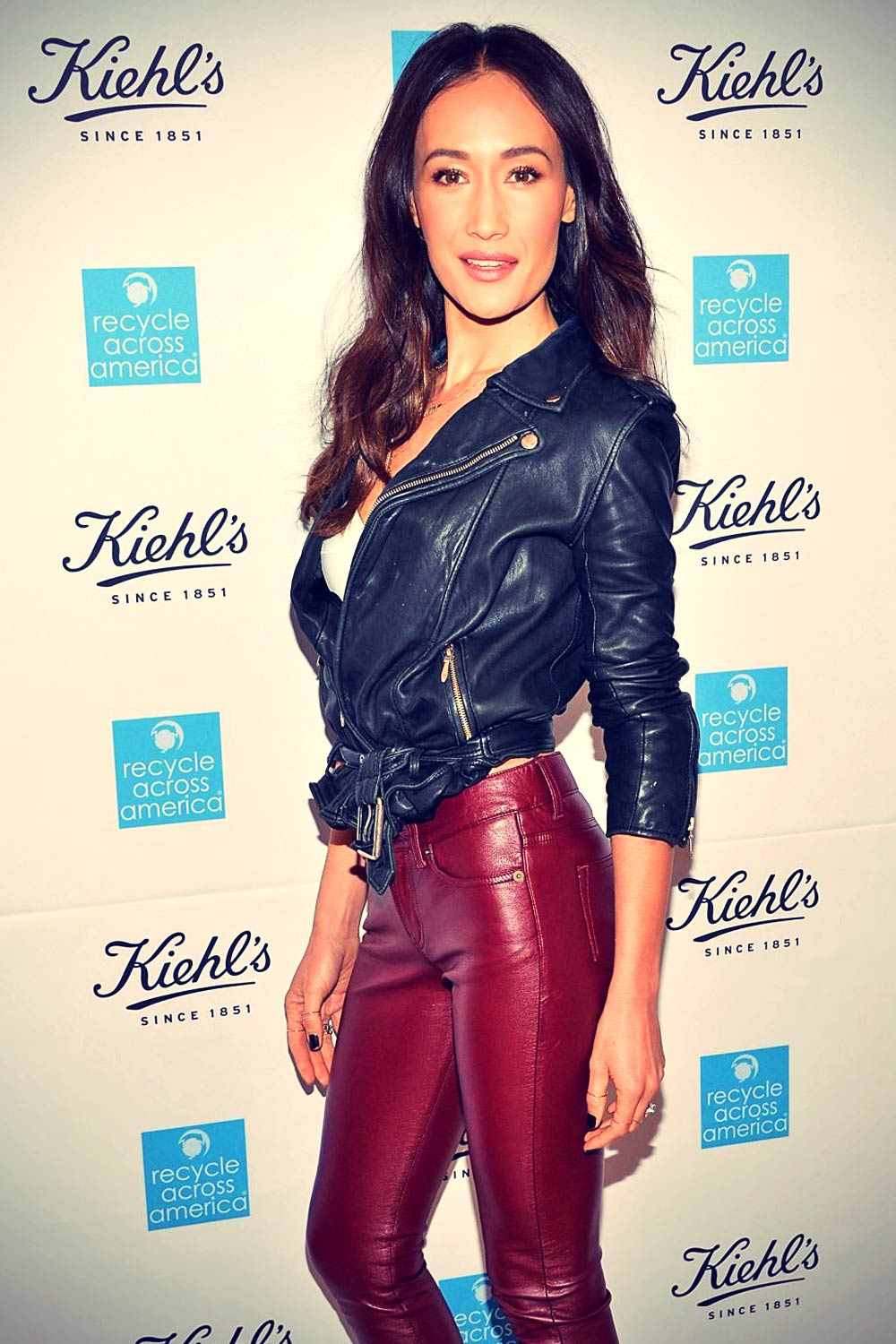 Maggie Q attends Kiehl's 2015 Earth Day Project