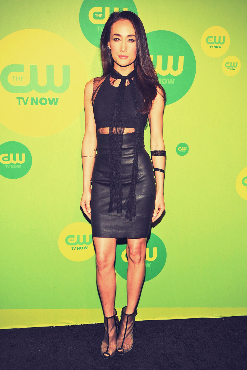Maggie Q attends The CW 2013 Upfront Presentation