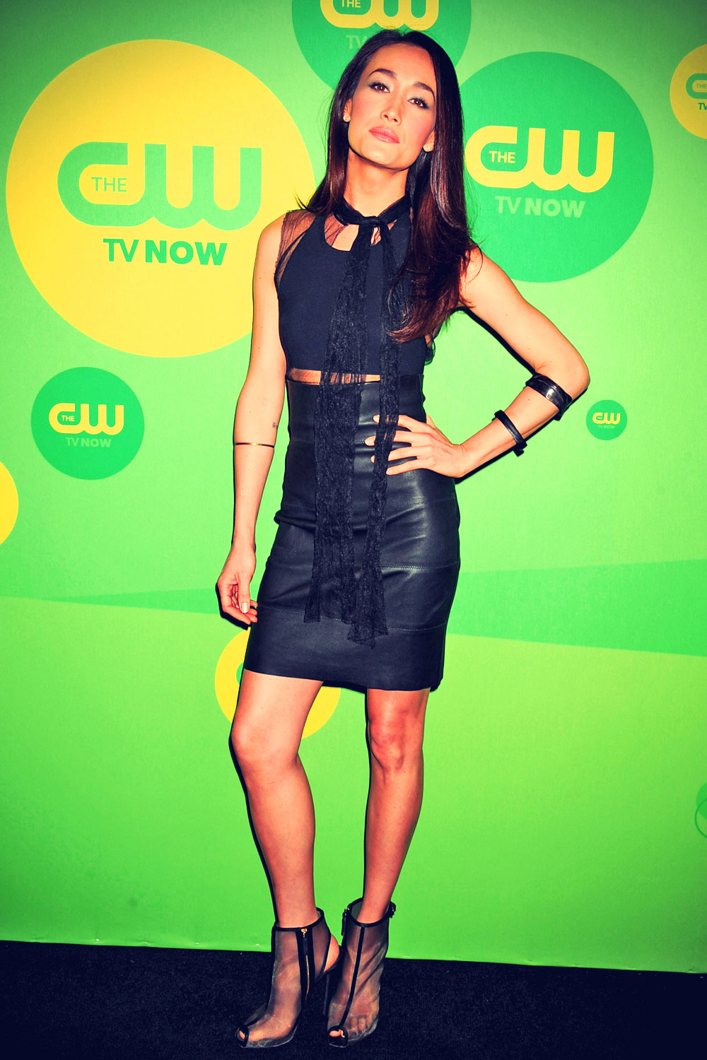 Maggie Q attends The CW Network's New York 2013 Upfront