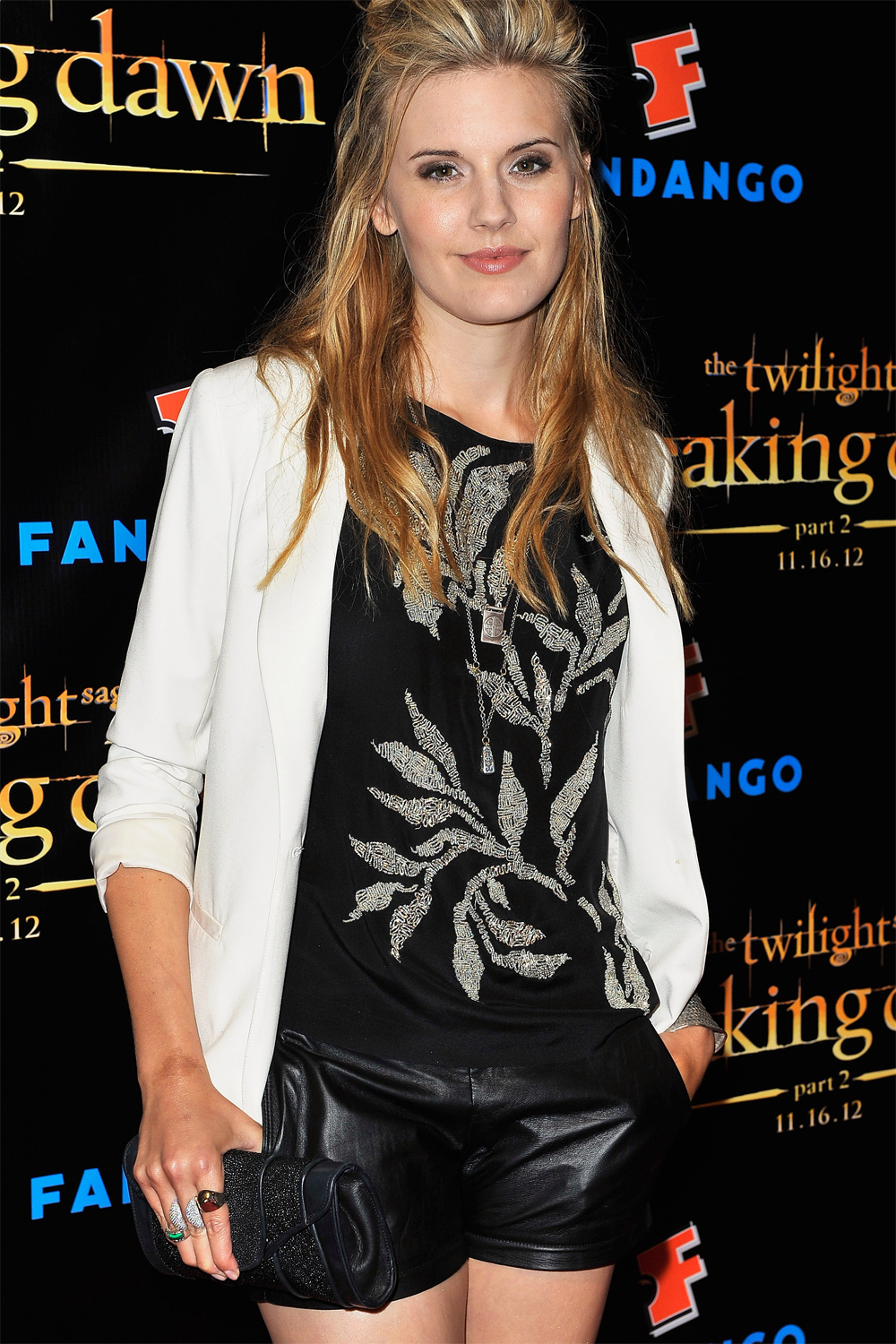 Maggie Grace at Breaking Dawn Part 2